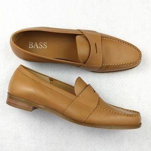 Bass Boston Genuine Leather Loafers Size 7.5Medium